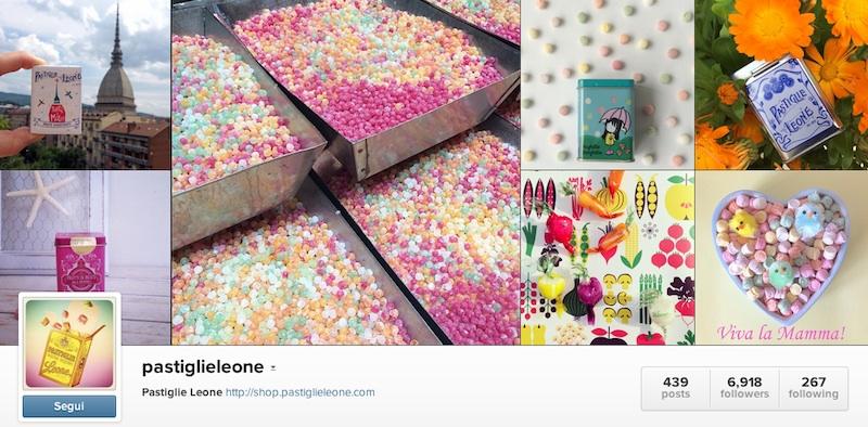 Pastiglie Leone Instagram