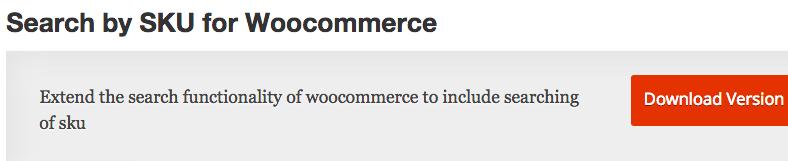 woocommerce ricerca per codice prodotto