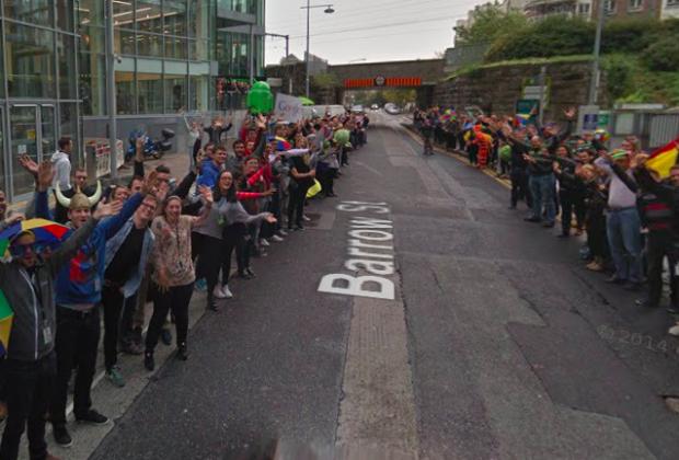 Benvenuto di Google a Dublino