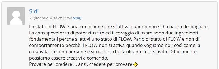 Lo Stato di Flow - Sidi