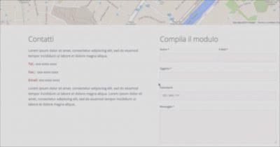 corso di moduli di contatto per Wordpress