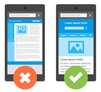 10 regole per la progettazione di un sito mobile